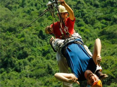 Ziplines in Río Cuale with tequila tasting
