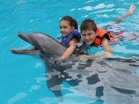 Nado con delfines niños de 3-10 años Guadalajara