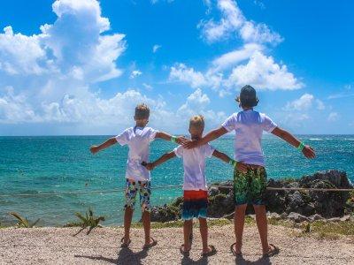 Tour Tulum Cobá y Playa Paraíso con buffet Niños