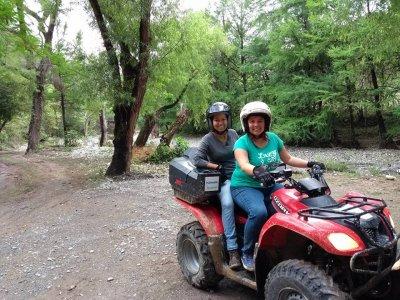 Ruta en cuatrimoto biplaza presa Jalpan