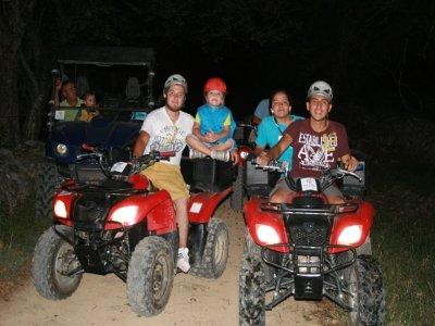 Night ATVs Cave of the Devil Queretaro