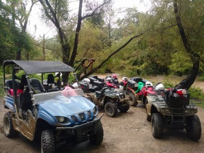 RZR route for 4 people in Jalpan dam