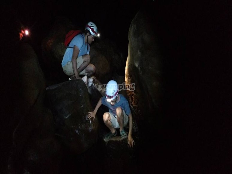 Discover the devil's cave