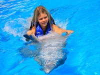 Nado con delfines para niños en Cabo San Lucas