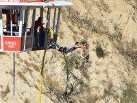 Espectacular salto en bungee
