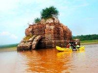 Kayak in the dams of Jalpa