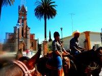 Horseback riding experience in Jalpa