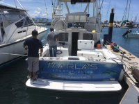 Barco de pesca Marla
