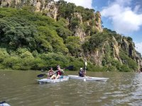 Great experience sailing aboard a kayak