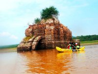 Beautiful landscapes while you sail in your kayak
