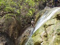 Waterfalls and abseiling, canyoning