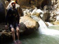 Big abseils, canyoning