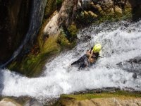 Abseiling in Jalisco, canyoning