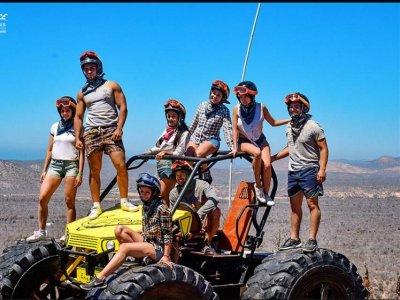 UTV desert tour Margaritas 2 hours