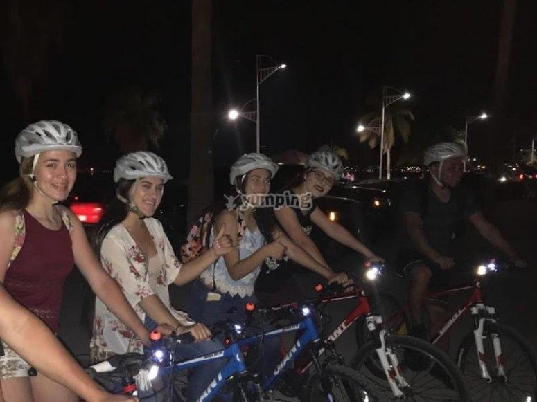 Paseo en bicicleta por La Paz