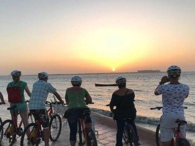 Renta de bicicleta para pareja en La Paz 2 horas