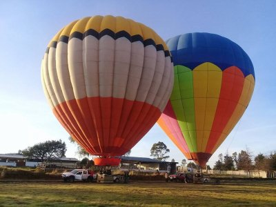 Balloon ride, accommodation and attractions Tlaxco