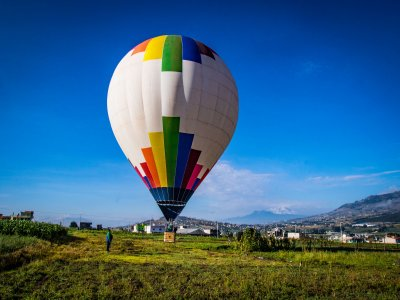 Shared balloon flight and accommodation Tlaxco