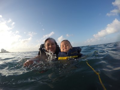 Snorkel private boat 37 ft Isla Mujeres 4 hours