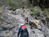 Canyoning in the Sierra Mixteca