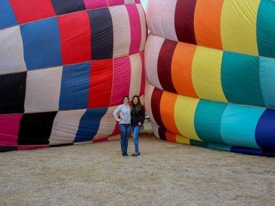 Vuelo en globo para 2 personas y hospedaje Tlaxco