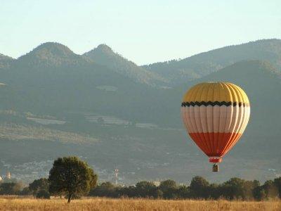 Balloon Flight Full Accommodation Tlaxco