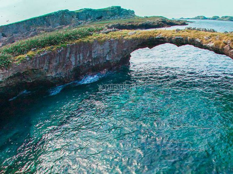 Come to know the Marietas Islands and its magical places