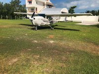 Private light aircraft 30 min Caribbean Mexico