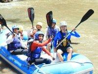 Aventura de rafting en Tarandacuao