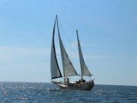 Sailboat ride to Islas Marietas