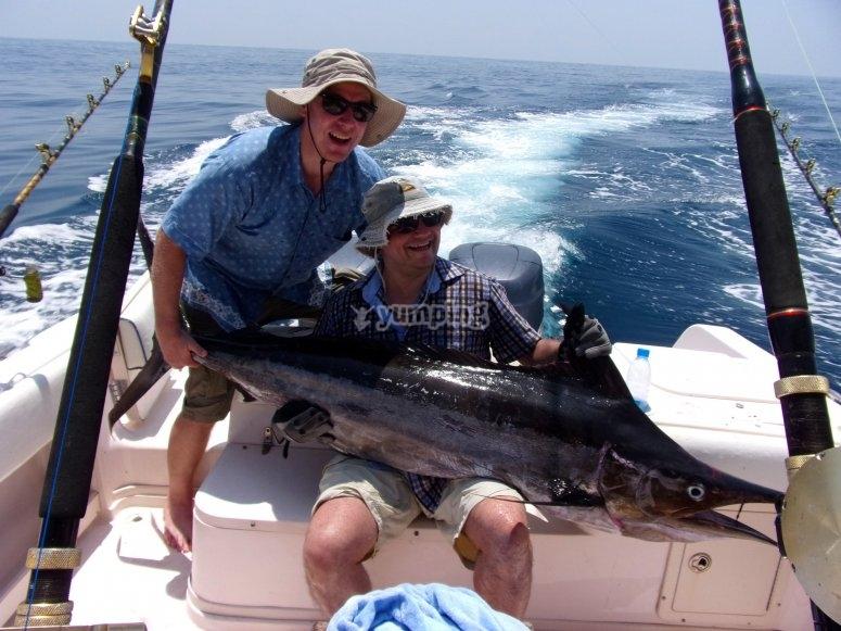 Increibles pescas