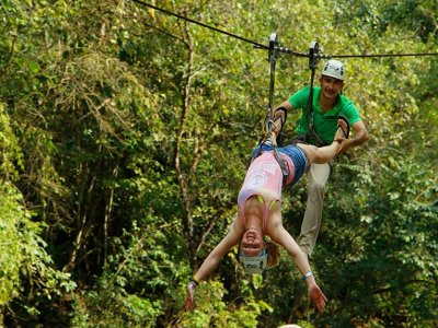 ATV and Zipline Tour in Puerto Vallarta River