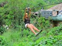 Pasa por la selva