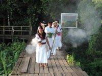 Caminata a manantial y baño Temazcal en Nanciyaga