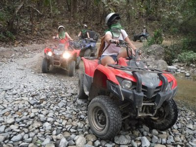 Extreme dirt road quad bike tour Vallarta