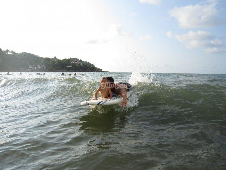 Toma las mejores olas