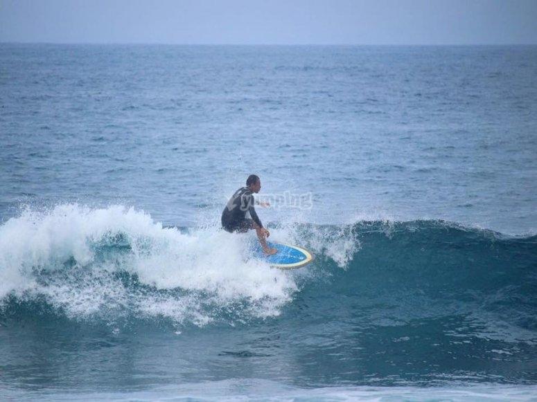 Aprovecha de las olas
