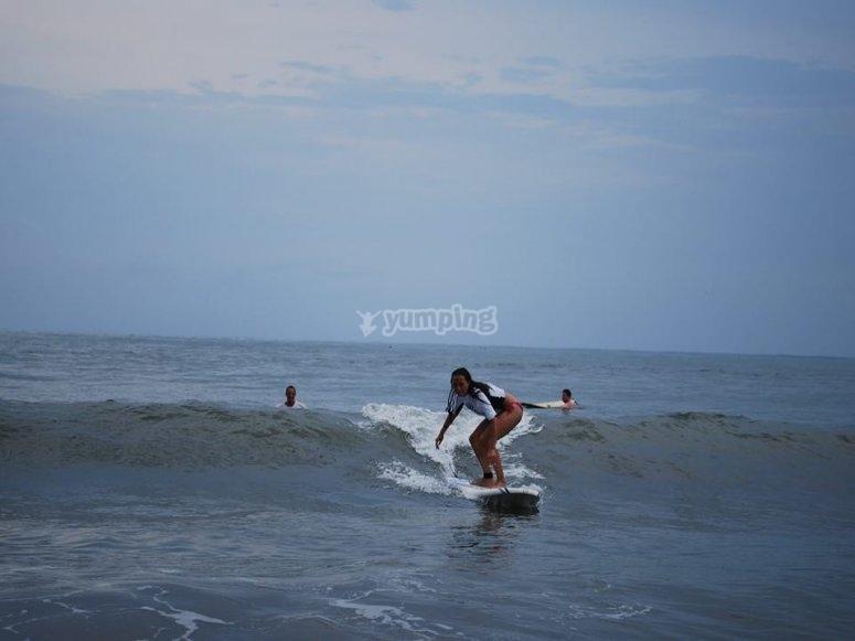 Domina las olas