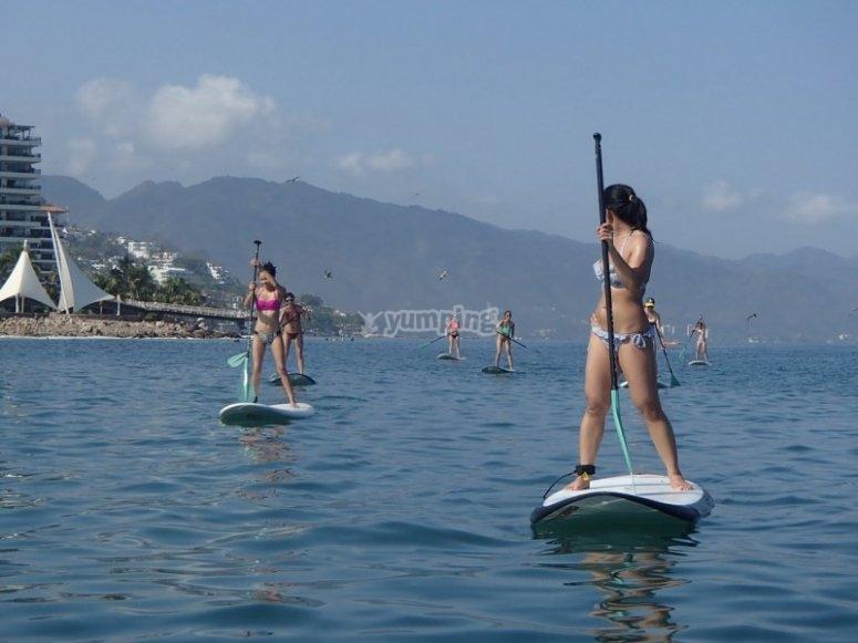 Paddle surf en Puerto Vallarta