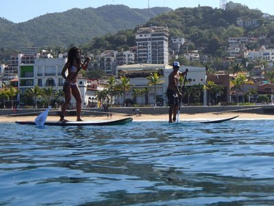 Paddle-Board Classes 2 hours in Puerto Vallarta