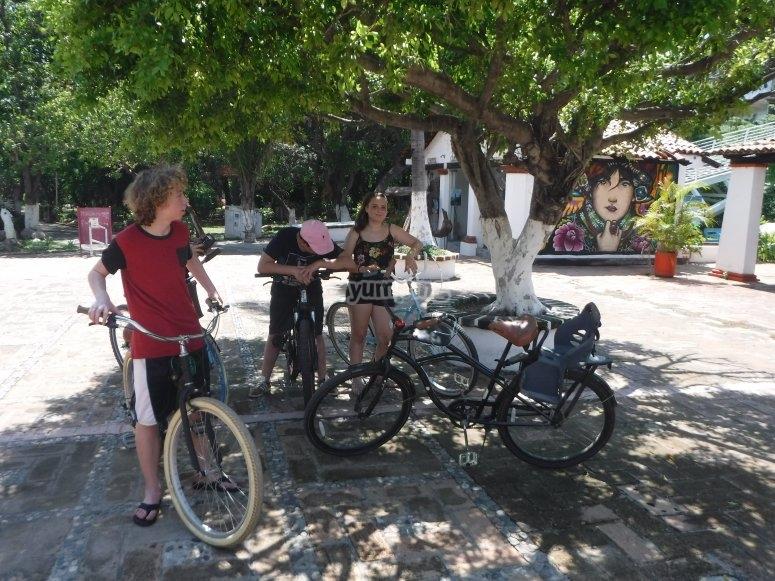 Diviertete en bicicleta