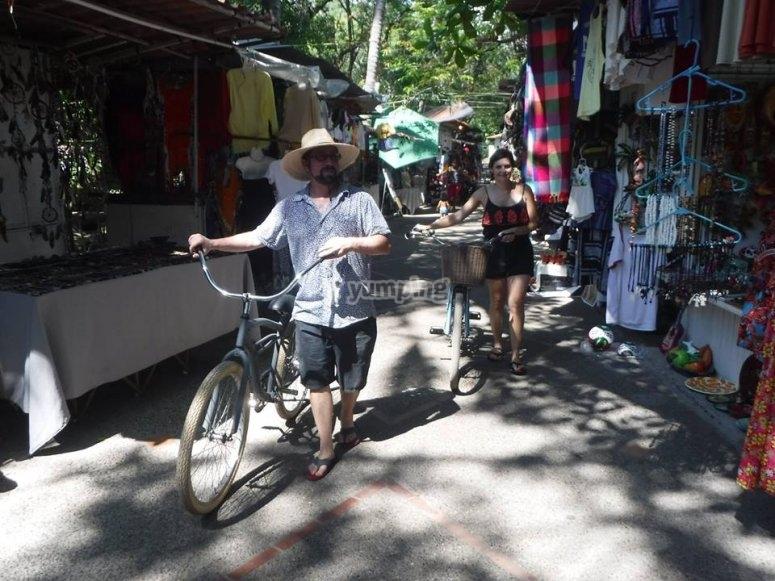 Recorre Puerto Vallarta en bici