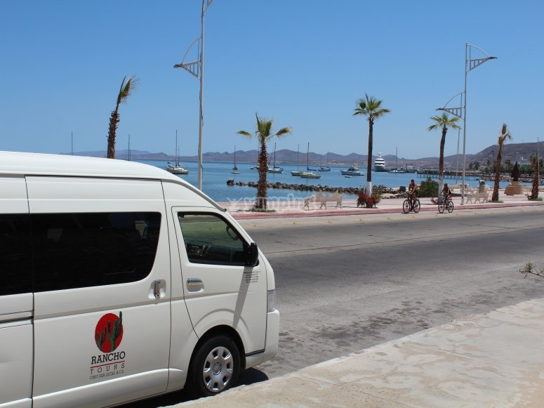 Transfer trip on a van