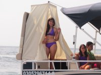 Luxury catamaran boat