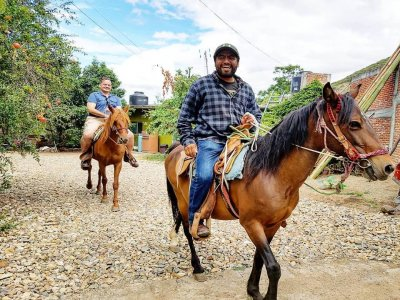 Horse riding for 3 hours Oaxaca
