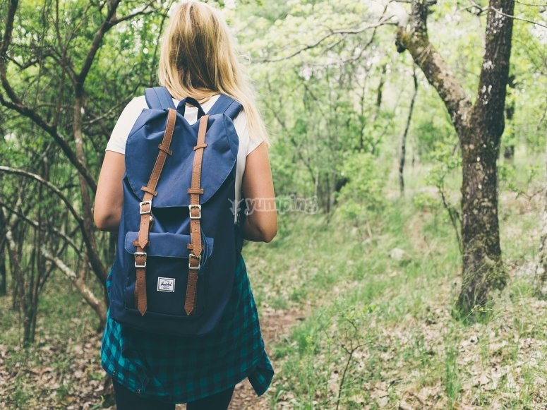 We have long-distance hiking trails