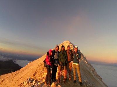 Ruta Alta Montaña Iztaccihuatl o Pico de Orizaba