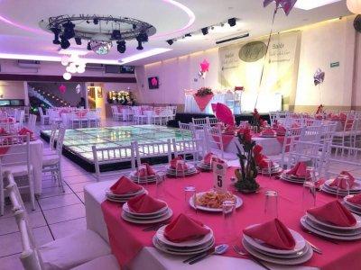 Renta de salón de fiestas Ciudad de México 5 horas