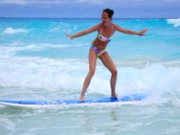 Surfing in the Caribbean