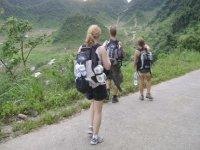 Caminata por naturaleza